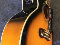 Электроакустическая гитара Epiphone EJ-200CE/VS