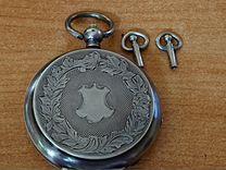 Карманные часы brenets серебро