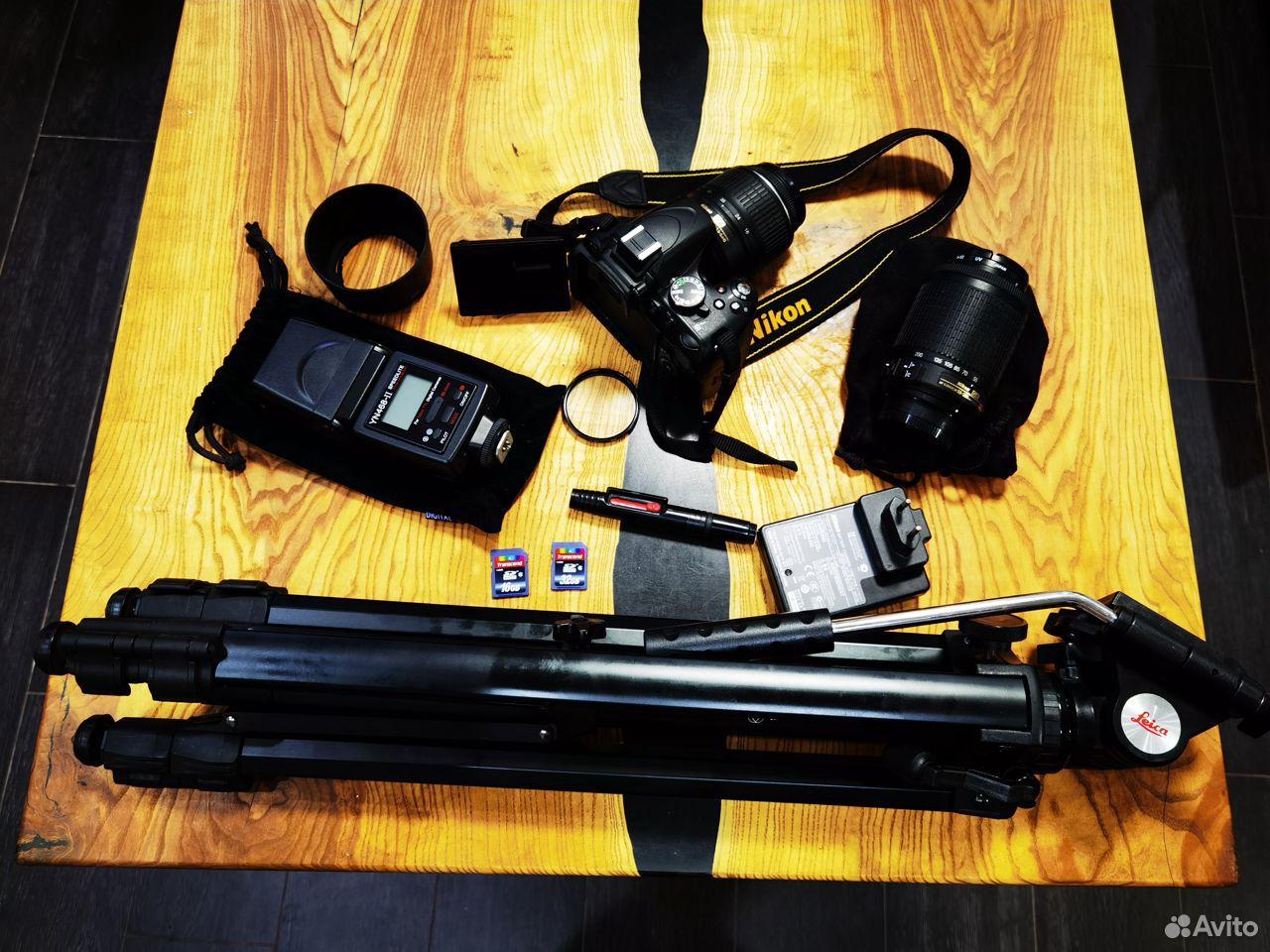 Зеркальный фотоаппарат Nikon D5100 Dauble VR Обмен  89185656006 купить 4