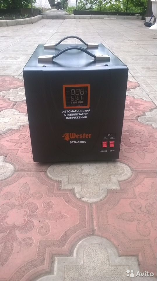 Стабилизатор напряжения Wtster STB-10000