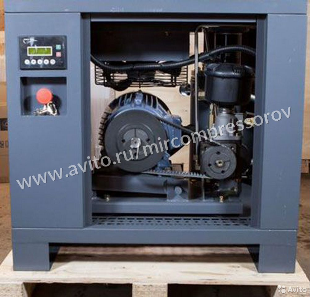 Новый винтовой компрессор CrossAir 5.5 кВт