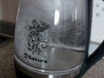 Чайник с подсветкой Sakura 1.6 литра