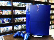 PlayStation 3 500gb синий глянец+25игр+гарантия