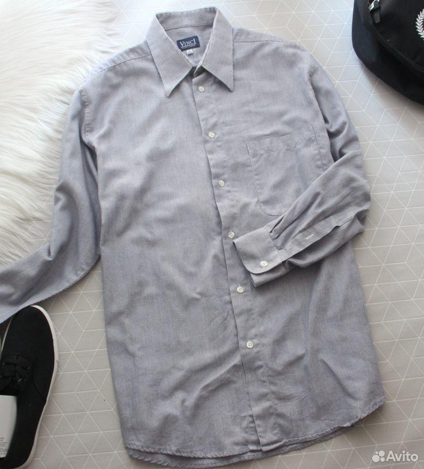 89229092100  Кр.33 Стильная мужская рубашка