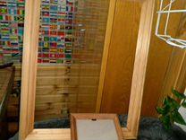 Рамки деревянные багеты 46*36см и 20,5*15,5см
