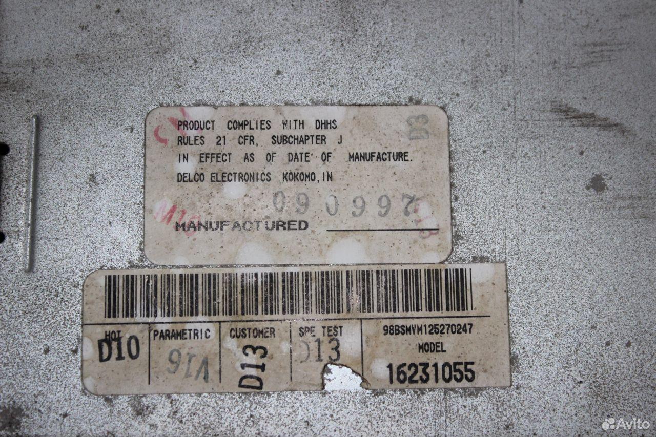 Проигрыватель CD Chevrolet Tahoe GMT400  89510096699 купить 5