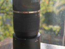 Новый Tamron DI SP 70-300mm F/4-5.6 VC USD A005NII
