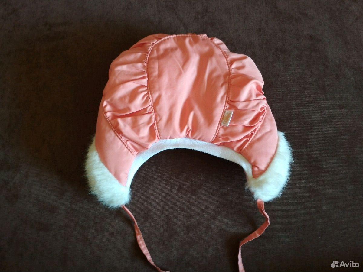Зимняя шапочка для малышки  89831965010 купить 2
