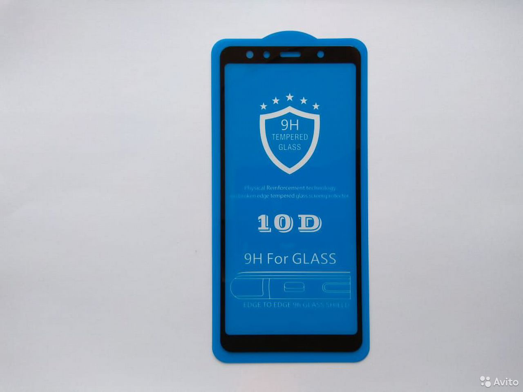 Стекло защитное SAMSUNG Galaxy A7 2018