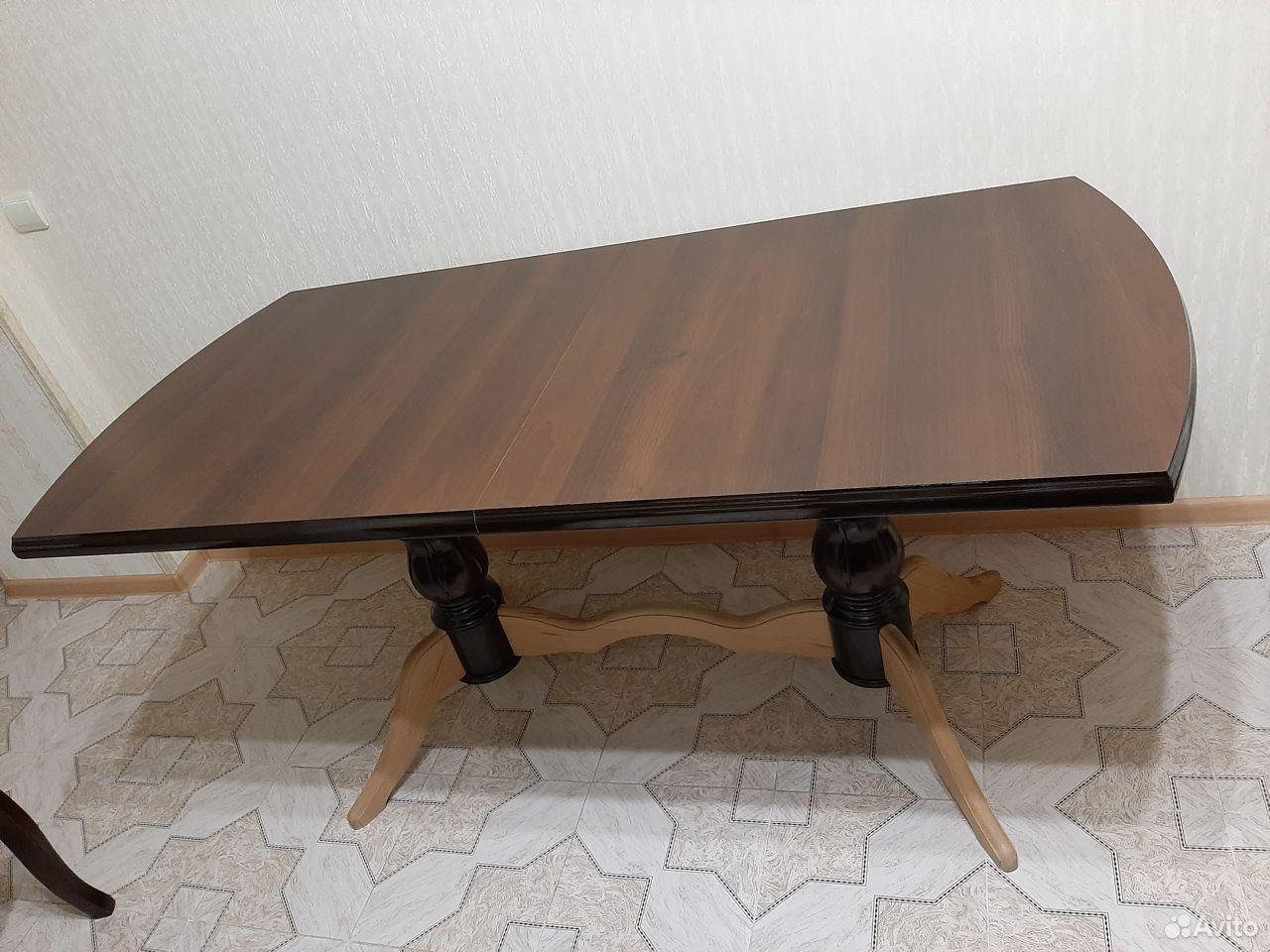 Стол и стулья  89188200306 купить 2